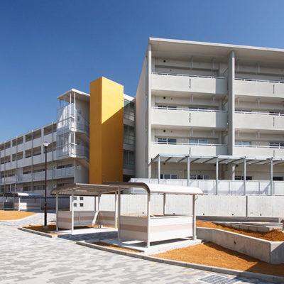 府営泉佐野第4期中層住宅(建て替え) 新築工事