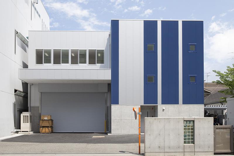 ツジカワ八尾工場様 精密加工棟建替え新築工事