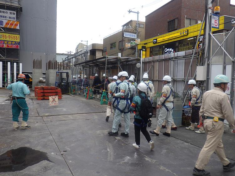 建設業労働災害防止協会での安全活動