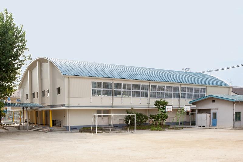 清高小学校屋内運動場耐震補強工事