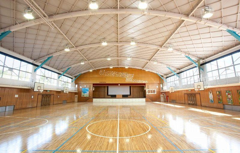 加茂小学校屋内運動場耐震補強工事