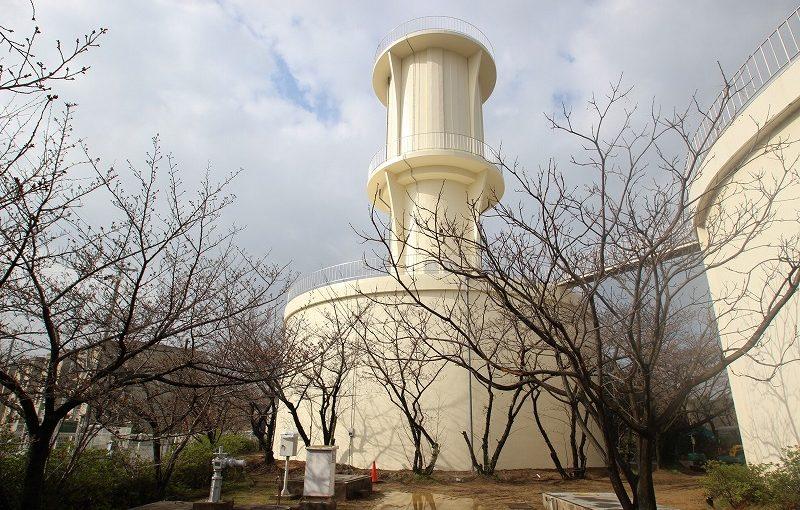 高石配水場6号配水池内外面塗装改修工事