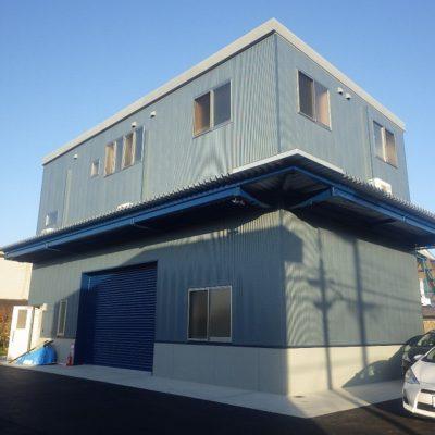 和泉市倉庫兼事務所新築工事