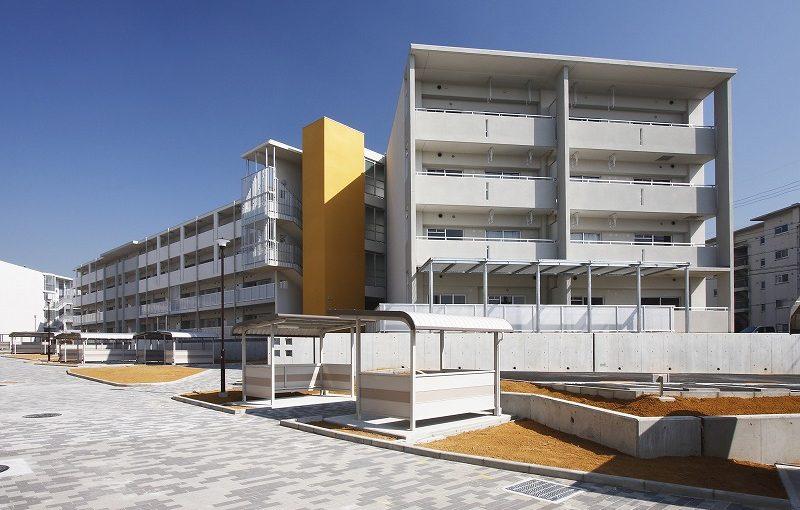 大阪府営泉佐野佐野台第4期中層住宅(建て替え)新築工事